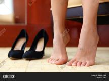 High Heels Shoes Feet & Free Trial Bigstock