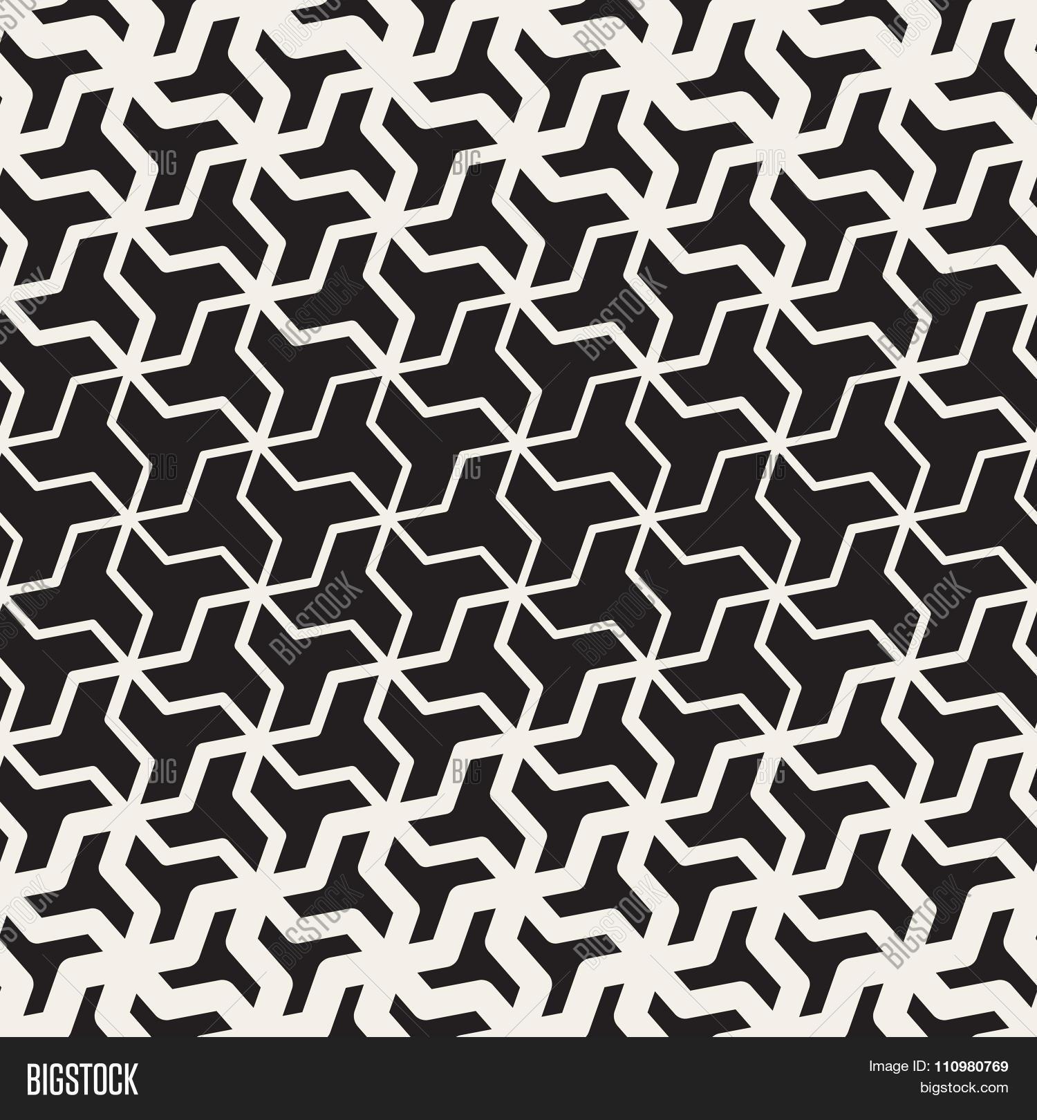 Vector Seamless Black White Vector Amp Photo
