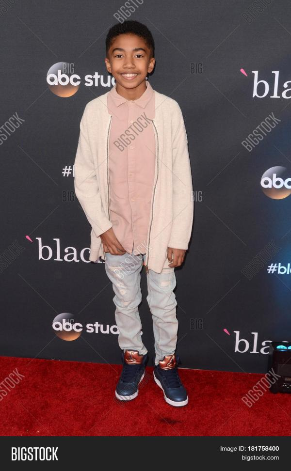 "Los Angeles - Apr 12 Miles Brown ""blackish"" Fyc Event Television Academy"