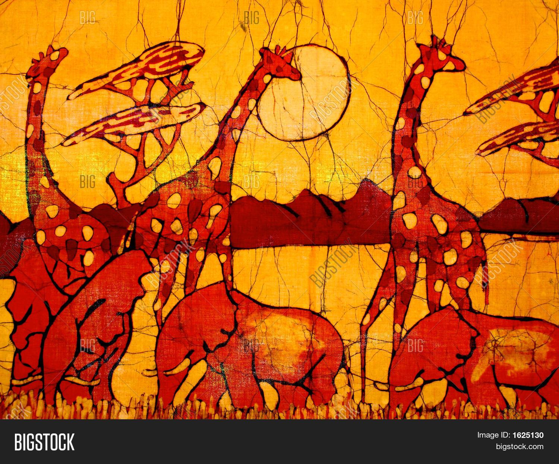 African Batik Image  Photo  Bigstock
