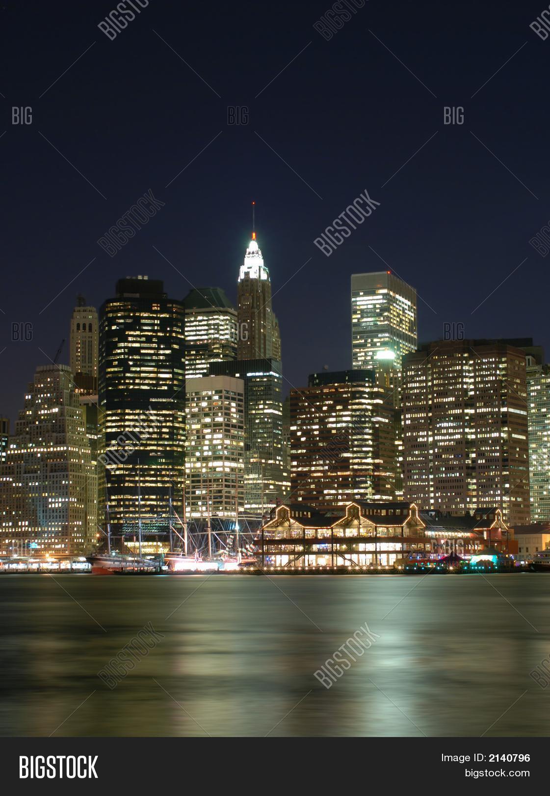 Portrait New York City Skyline Image  Photo  Bigstock