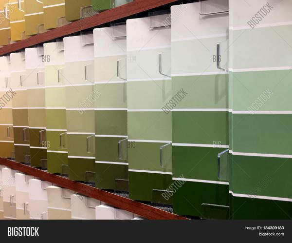 Paint Color Swatches Samples