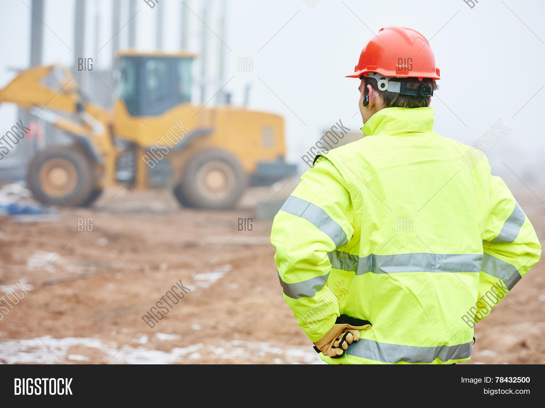 Construction Foreman Worker Image & Photo   Bigstock