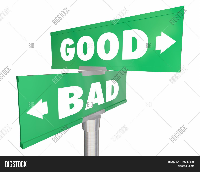 Good Vs Bad Choices Ideas Road Image Amp Photo