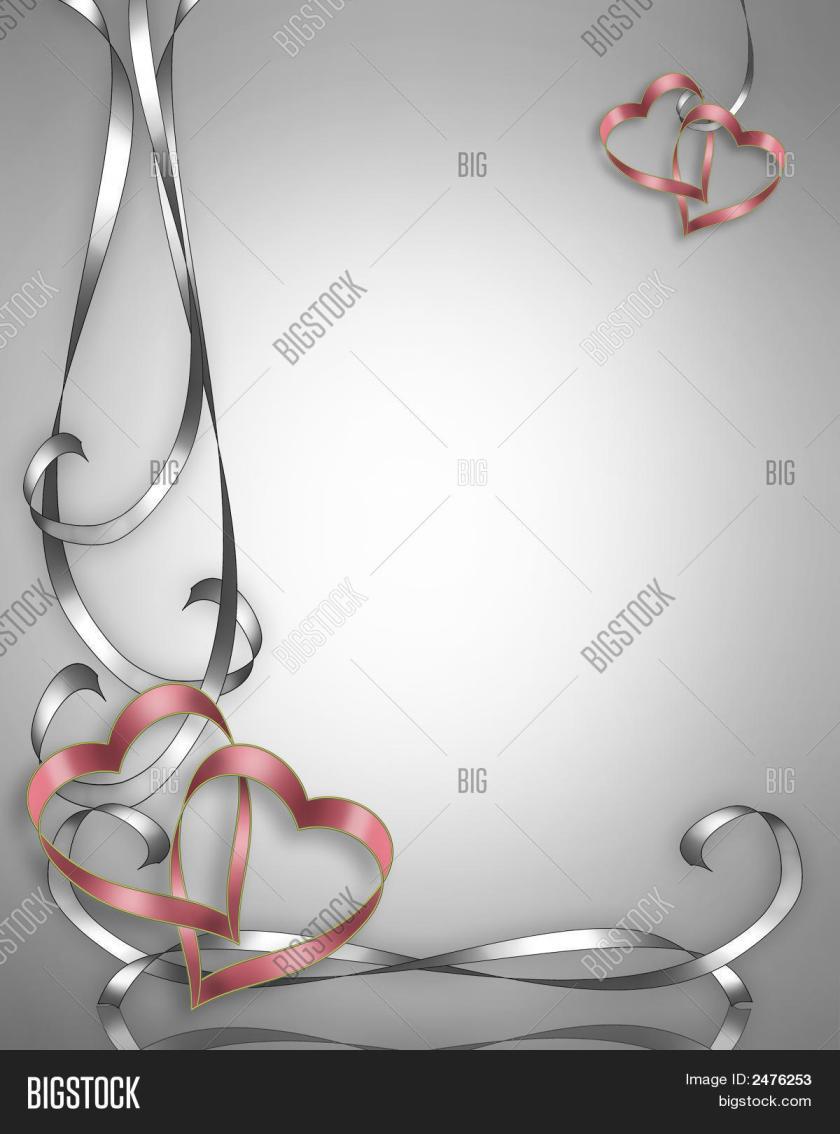 Wedding Invitation Or Valentine Background