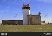 Hermann Castle Narva Estonia & Bigstock