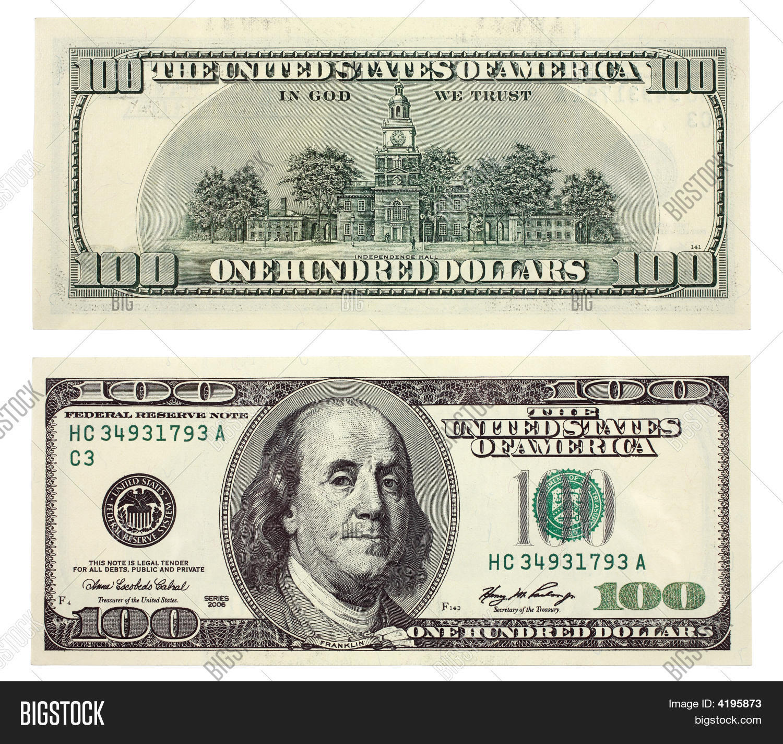 Hundred Dollar Bill Image Amp Photo