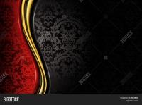 Red Black Luxury Background Vector & Photo   Bigstock