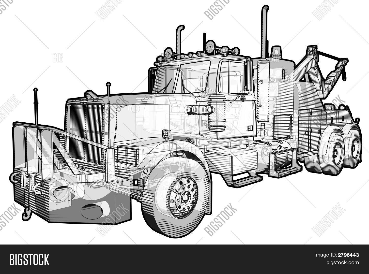 Tow Truck Stock Photo Amp Stock Images