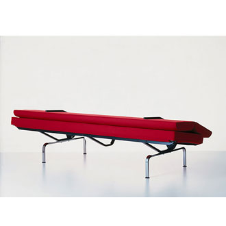 eames sofa compact camelback slipcovers charles and ray