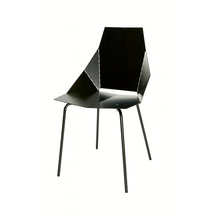blu dot real good chair black upholstered