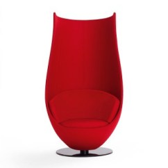 Revolving Office Armchair Safety First High Chair Marcel Wanders Wanders' Tulip
