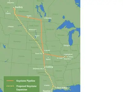 North America: Keystone Pipeline