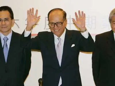 After his father died, business magnate Li Ka-shing had to quit school to help support his family.