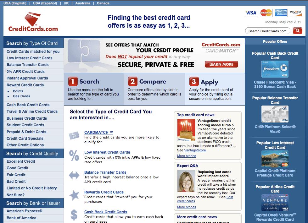 CreditCards.com — $2,750,000