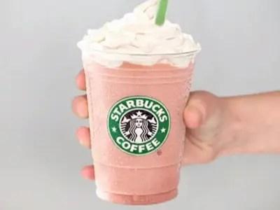 A picture of a Starbucks Frappuccino