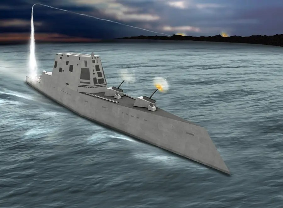 The Zumwalt's weaponry is tailored for land attack and close-to-coast dominance and will also have a sensor and weapons suite optimized for littoral warfare and for network-centric warfare.