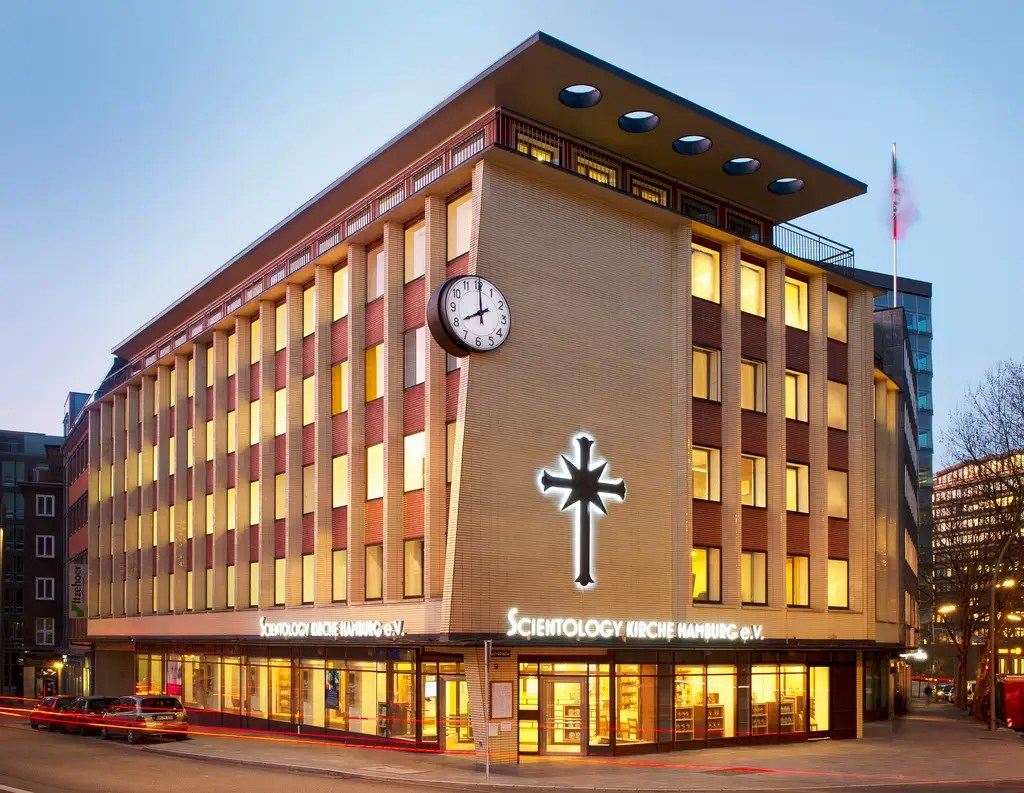 The six-story Hamburg, Germany, branch is in the heart of the old city.