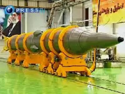 The Sejjil missile is capable of striking Tel Aviv,  Israel