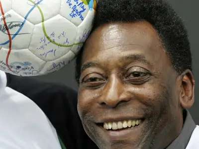 Puma paid Pelé $120,000 to tie his shoes at the 1970 soccer World Cup final.