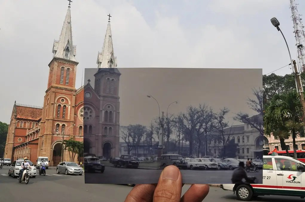 Saigon, 1969 & now