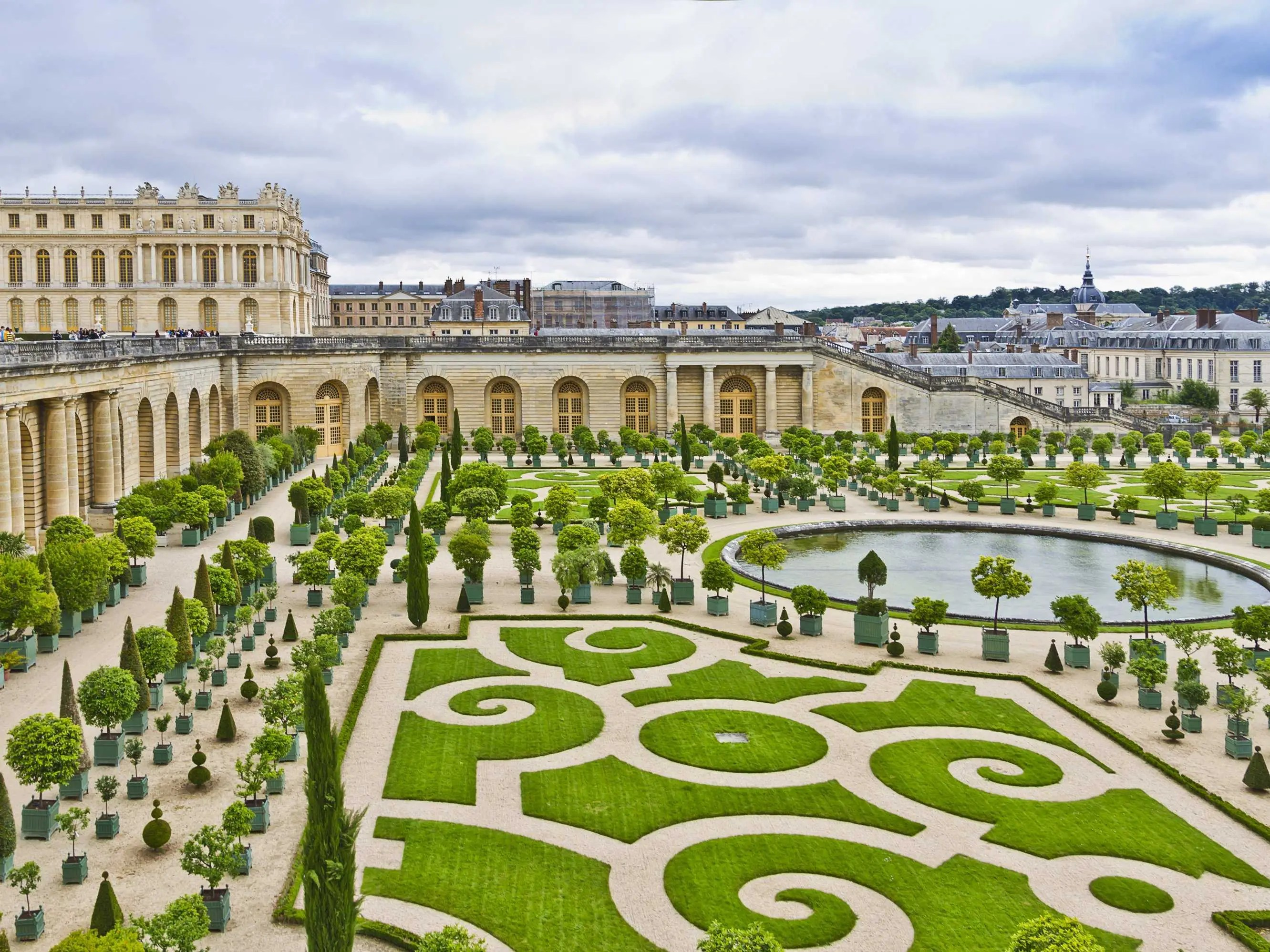 Get lost in the maze of gardens at the Palace of Versailles outside Paris, France.