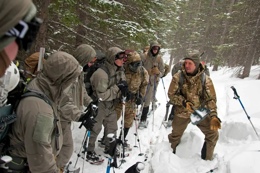 And if their group needs winter training, they'll get that too.