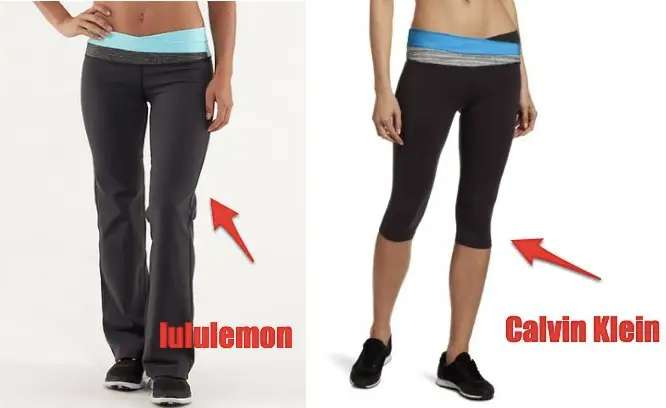 The pants are so valuable to Lululemon that the company once sued Calvin Klein for making a pair a bit like them.