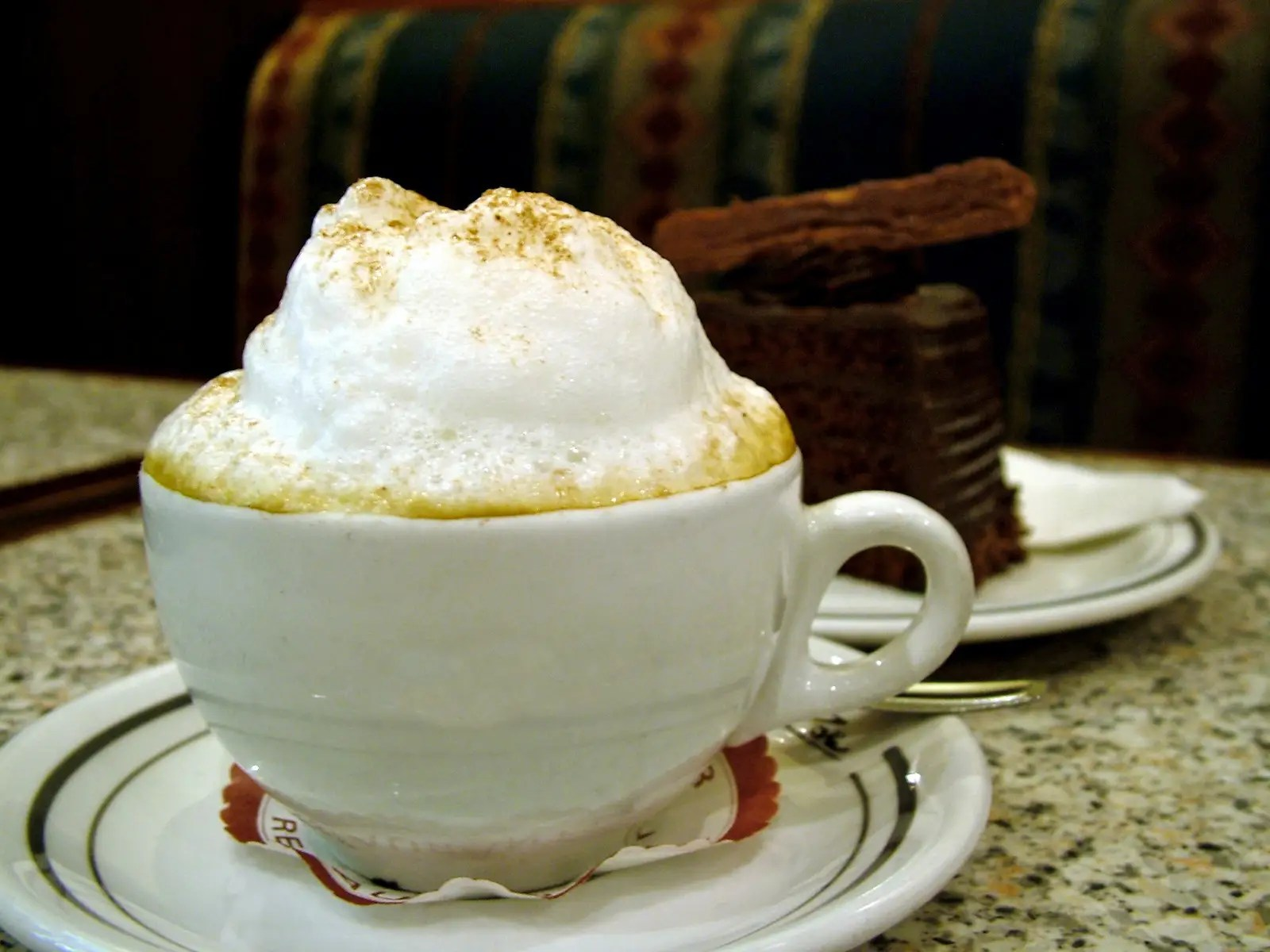 ITALY: Many Italians begin their day with a cappuccino and hard roll or biscotti.