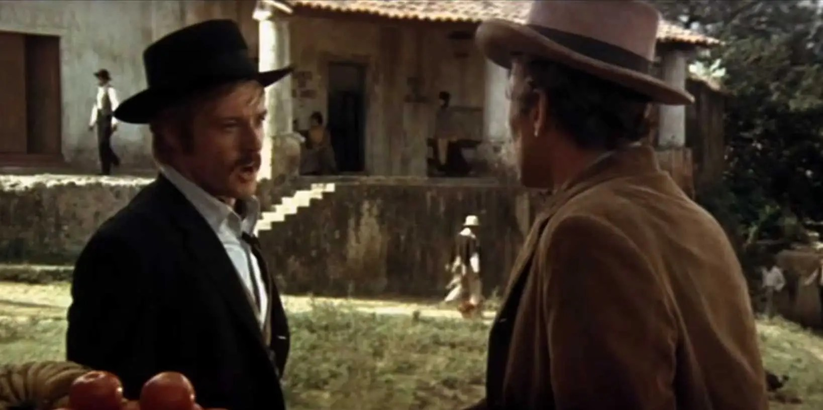 """Butch Cassidy and the Sundance Kid"" (1969): Wild West outlaws Butch Cassidy (Paul Newman) and the ""Sundance Kid"" (Robert Redford) flee to Bolivia in search of a more successful criminal career."