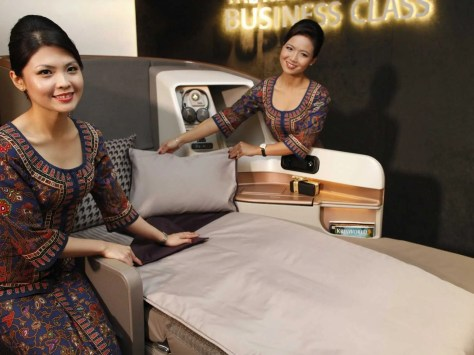 Image result for singapore airlines new seat launch