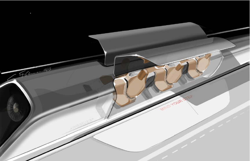 The Hyperloop is still only hypothetical, but it could disrupt a huge business
