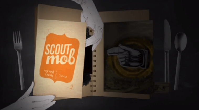 Your stomach is rumbling and you need something delicious that won't break the bank. Open up Scoutmob.