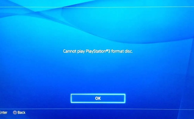 This Is What Happens When You Try To Put A Ps3 Disc In A