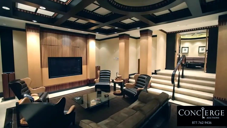 The cigar room.