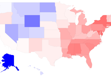 Map The States With More Men Than Women Business Insider