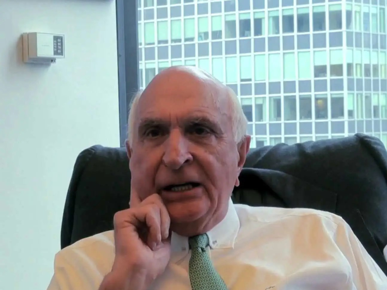 Investor Ken Langone's parents worked as a plumber and cafeteria worker.
