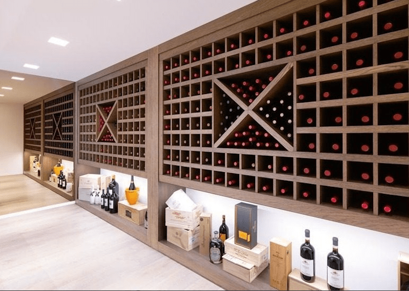 Or explore the extensive wine cellar, a sommelier's dream.