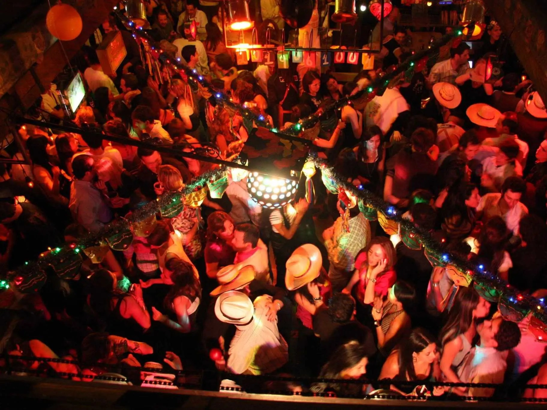 Feast on grilled meats and then dance the night away at Andrés Carne de Res, a massive nightclub in Bogotá, Colombia.