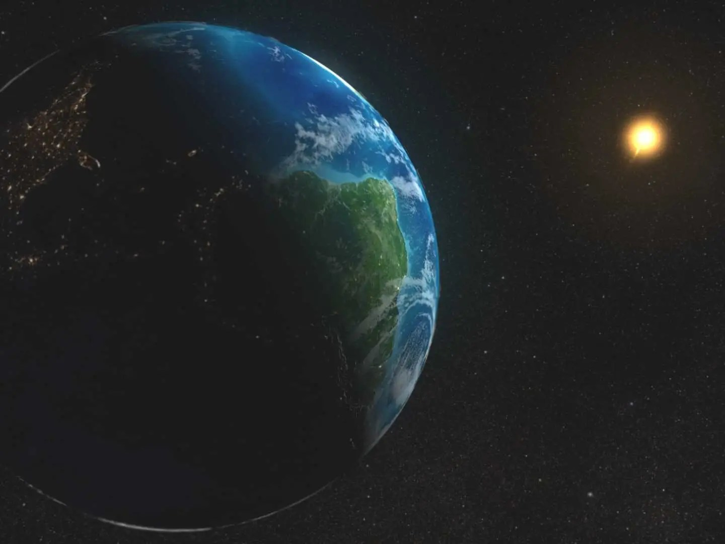Get an idea of how big the Earth really is.