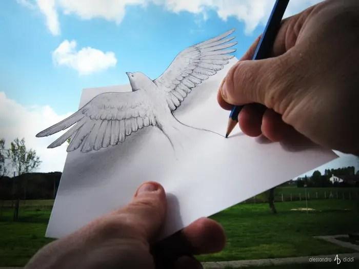 "First Look: Diddi's most recent, never-before-seen piece, ""Bird."""
