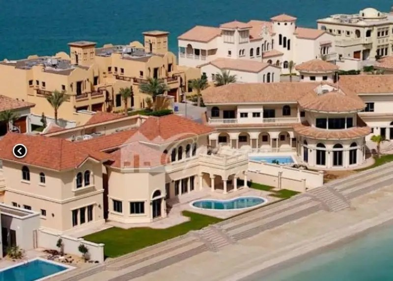 In Dubai, $5 million will get you a five-bed, six-bath, 8,453-square-foot villa on the man-made Jumeirah Islands located on the main lake.