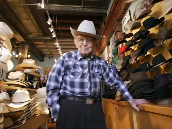 Jack Weil was 45 when he founded what became the most popular cowboy-wear brand, Rockmount Ranch Wear. He remained its CEO until he died at the ripe old age of 107 in 2008.