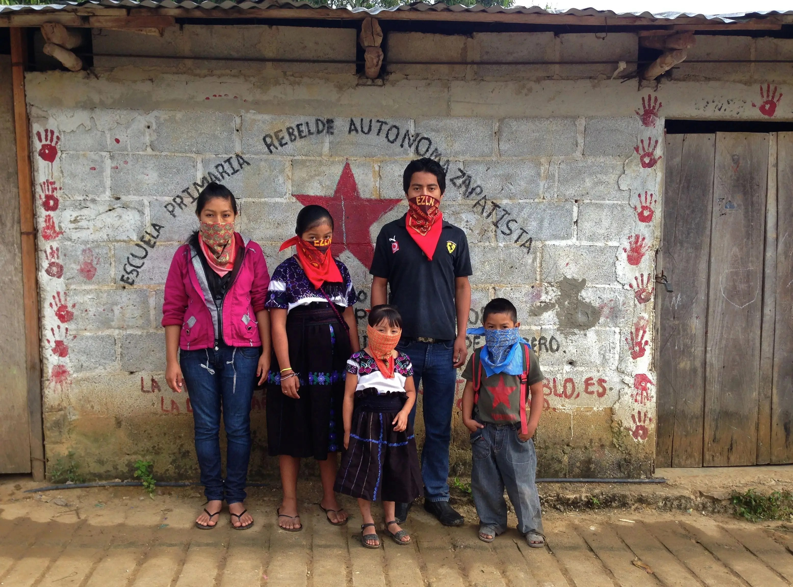 While the Zapatistas have attempted to create a life on their own terms in the mountains of Chiapas, things are far from utopian. In May 2014, a school was burnt down by other combined militant factions, leaving 15 injured and one prominent Zapatista teacher dead. Due to the isolated nature of the Zapatista regions, news coverage of this event and ones like it are scarce. Tensions still remain high.