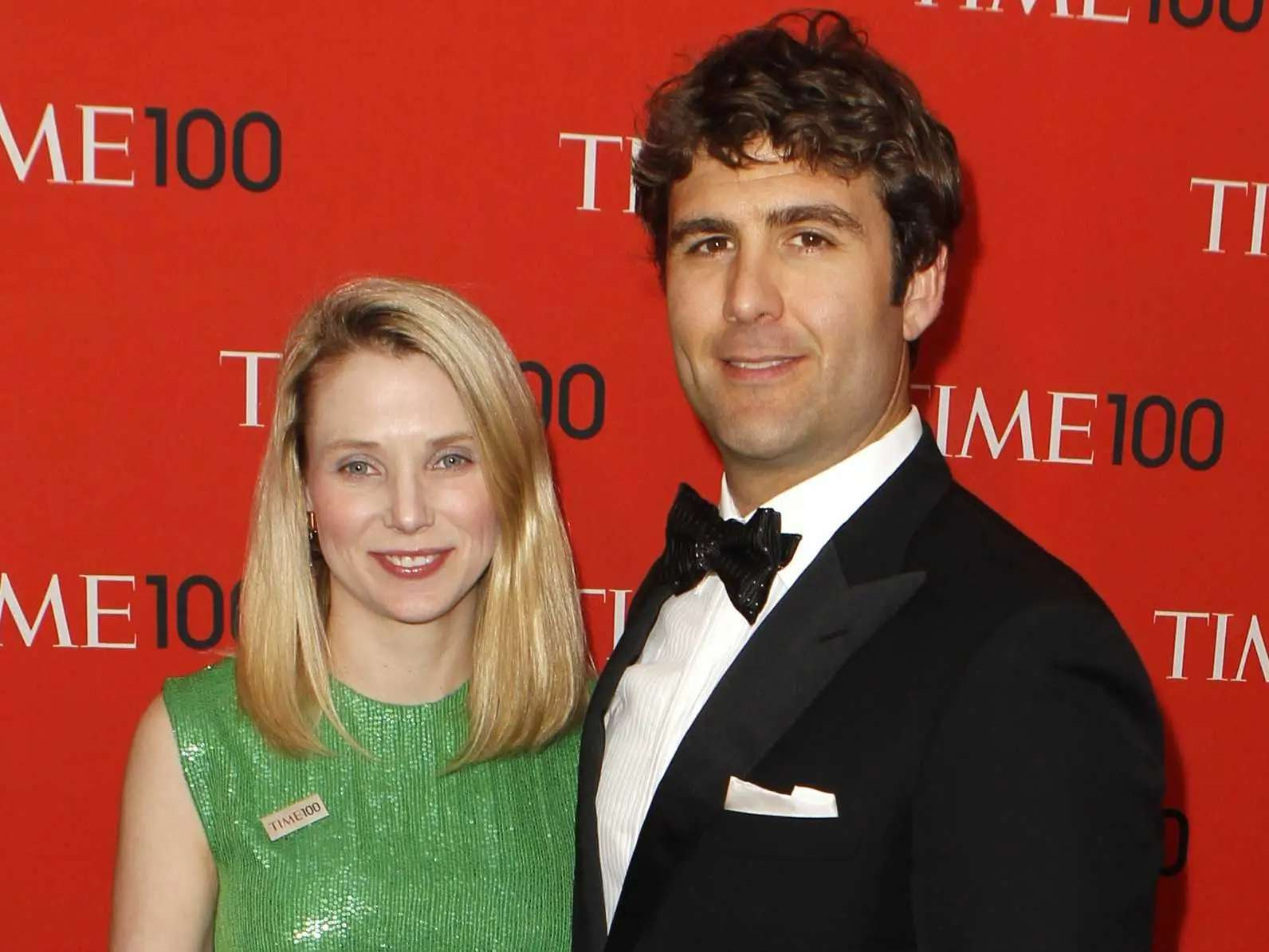 Yahoo's Marissa Mayer is married to VC Zack Bogue.