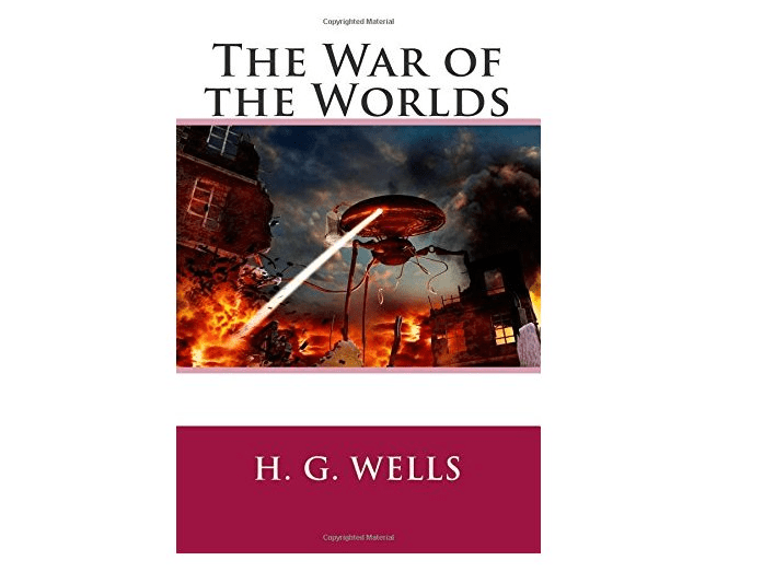 science fiction book war of the worlds