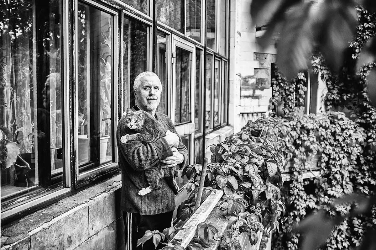 "Vladislav, age 67. Profession: Engineer. Passion or Dream: ""I dream about beautiful women."""