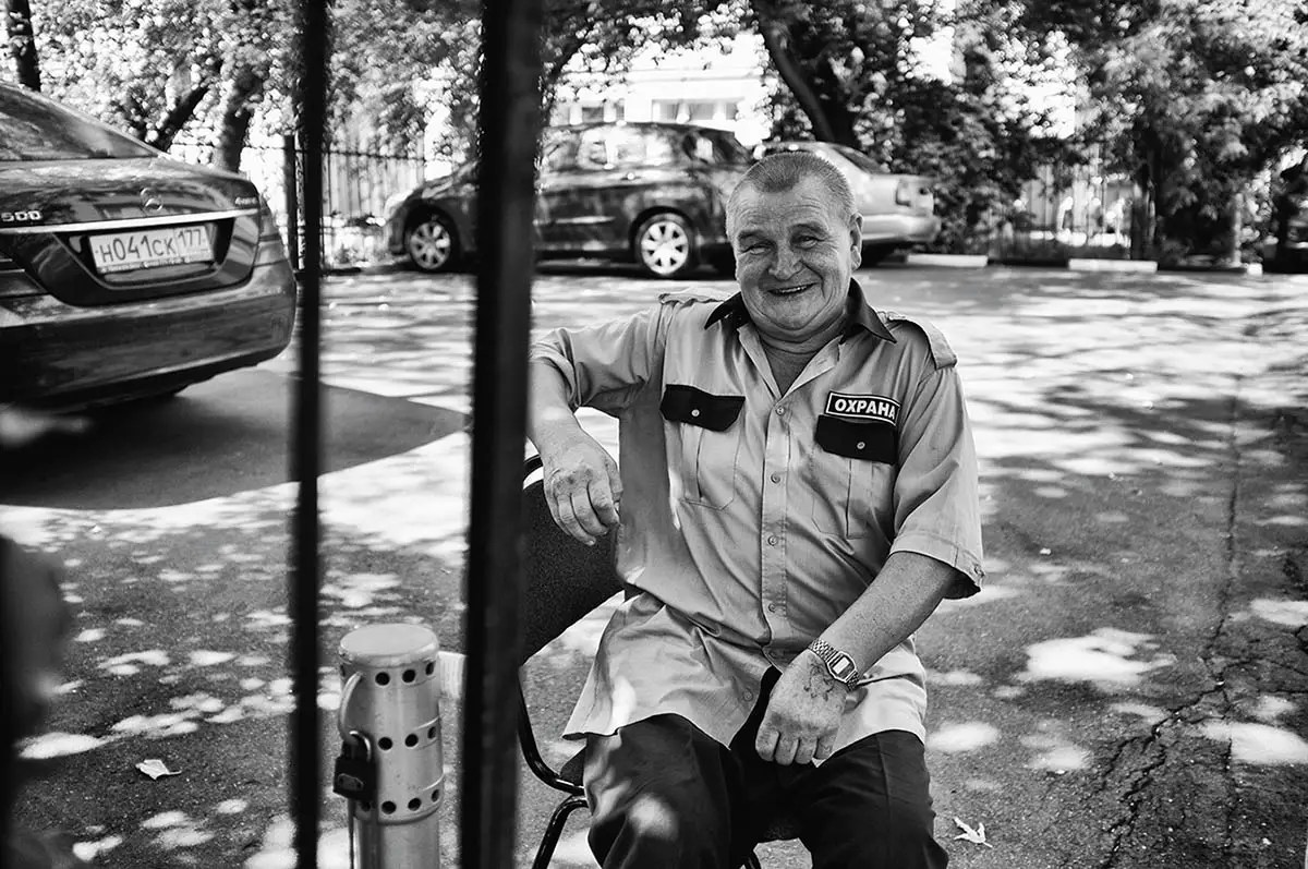"Vadim, age 70. Profession: Driver. Passion or Dream: ""I want to have a long life."""
