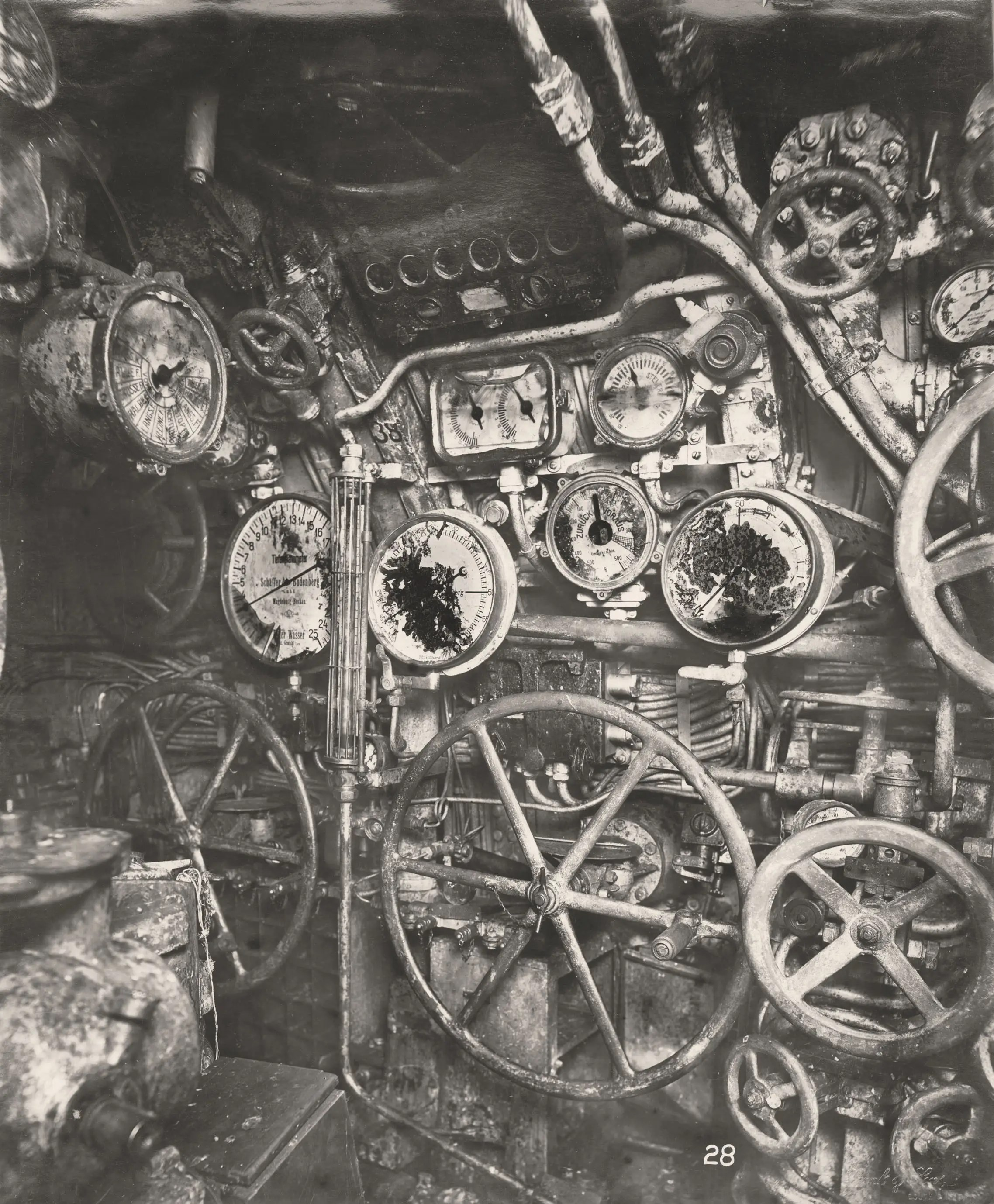 A Rare Glance Into The Heart Of A Wwi German U Boat