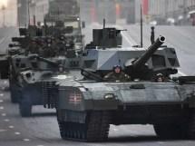 New Russian Military Tanks